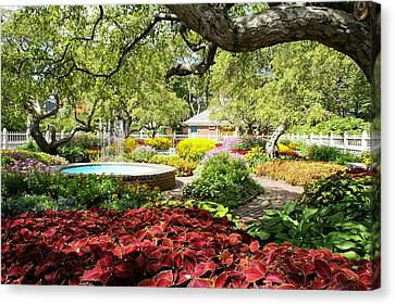 Garden Colors Canvas Print