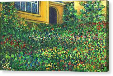 Garden Colors One Canvas Print by Linda Mears