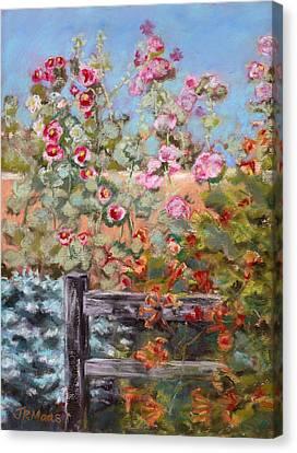 Garden Companion Canvas Print by Julie Maas