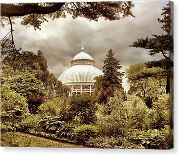 Garden Conservatory Canvas Print by Jessica Jenney