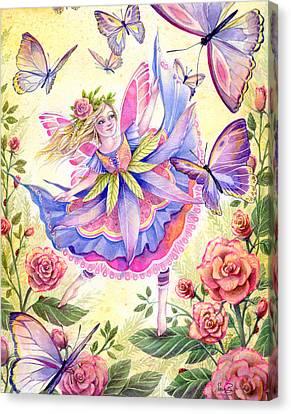 Garden Dancer Canvas Print