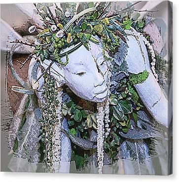 Garden Fairy Canvas Print by Patrice Zinck