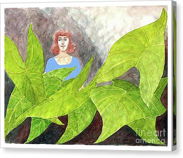 Garden Fantasy  Canvas Print by Fred Jinkins