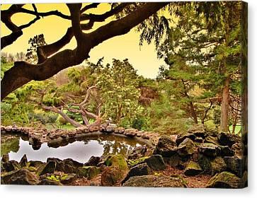 Garden For The Ones Of Flight - Deep Cut Gardens Canvas Print by Angie Tirado
