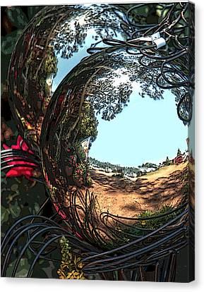 Garden Globe Canvas Print
