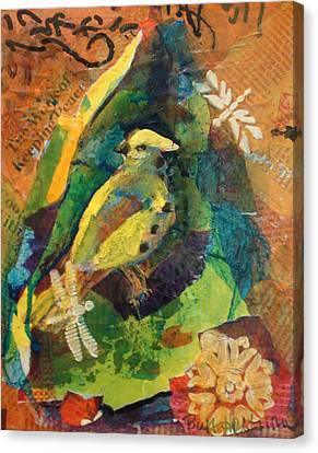 Garden Life Canvas Print by Buff Holtman