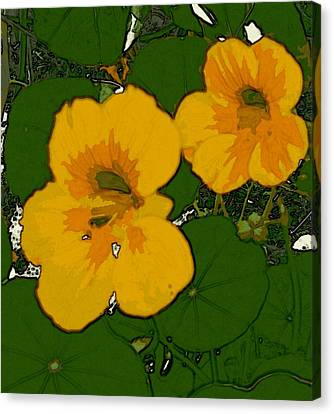 Garden Love Canvas Print by Winsome Gunning