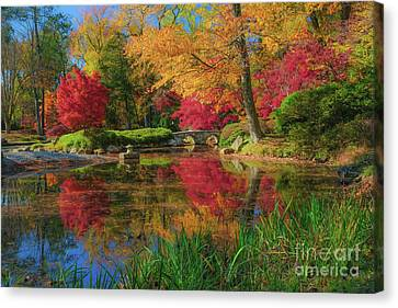 Garden Of Beauty Canvas Print