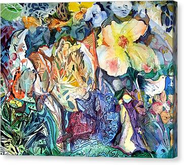 Garden Of Delights Canvas Print by Mindy Newman
