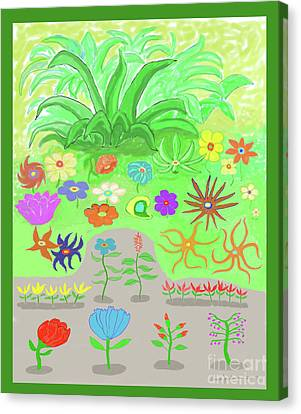 Garden Of Memories Canvas Print by Fred Jinkins