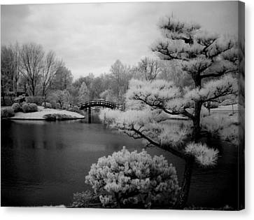 Garden Of Pure Clear Harmony Canvas Print