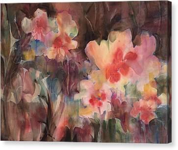 Garden Parade Canvas Print