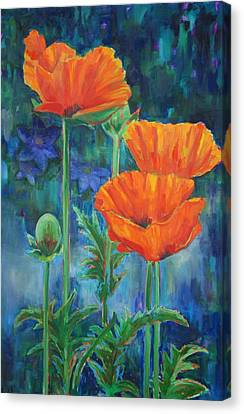 Garden Party Canvas Print by Billie Colson