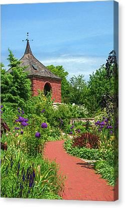 Garden Path Canvas Print by Trey Foerster