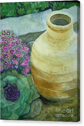 Garden Path Canvas Print by Vivian  Mosley