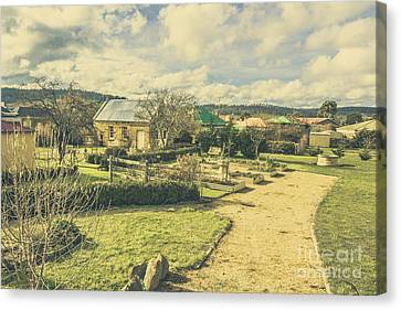 Garden Paths And Courtyards Canvas Print by Jorgo Photography - Wall Art Gallery