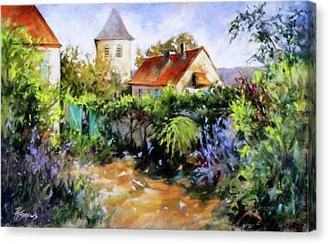 Garden Pleasures Canvas Print by Rae Andrews