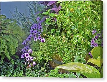 Garden Profusion Canvas Print by Andrea Simon