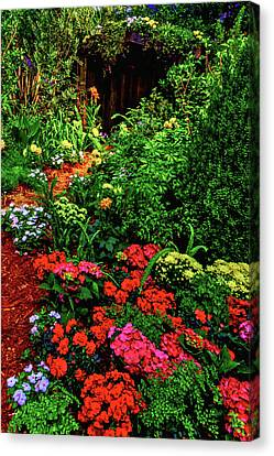 Shed Canvas Print - Garden Shed by Garry Gay