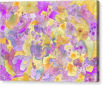 Garden #ss16dw021 Canvas Print by Satomi Sugimoto