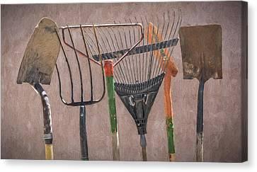 Garden Tools Canvas Print