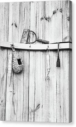 Canvas Print featuring the photograph Garden Tools by Rebecca Cozart