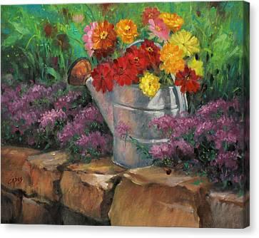 Garden Treasure Canvas Print