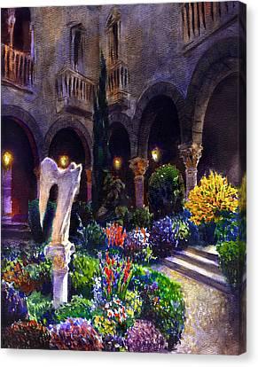 Garden Canvas Print by Valeriy Mavlo