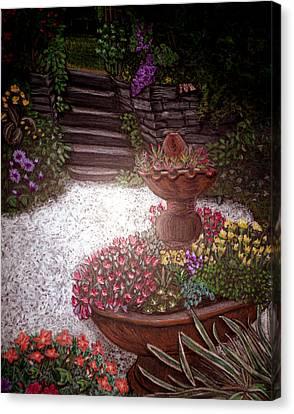 Garden View Canvas Print by Michelle Audas