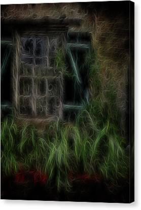 Garden Window 2 Canvas Print by William Horden