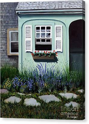 Garden Window Canvas Print by Paul Walsh