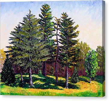 Garfield Trees Canvas Print by Stan Hamilton