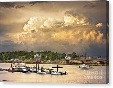 Garrison Cove Thunderstorm Canvas Print by Benjamin Williamson