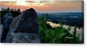 Garvin Heights Sunset Canvas Print
