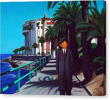 Gary Baldie Canvas Print by Snake Jagger