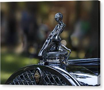 Antique Automobiles Canvas Print - Adonis Sliding Boy by Jean Noren