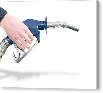Gas Station Pump Canvas Print by Jorgo Photography - Wall Art Gallery