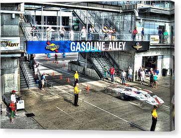 Gasoline Alley 2015 Canvas Print