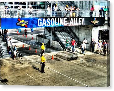 Gasoline Alley Canvas Print