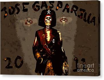 Gasparilla 2011 Canvas Print by David Lee Thompson