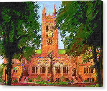 Gasson Hall  Canvas Print