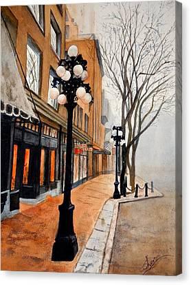Gastown, Vancouver Canvas Print