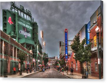 Gate E - Fenway Park Boston Canvas Print