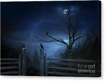 Gate Keepers Canvas Print