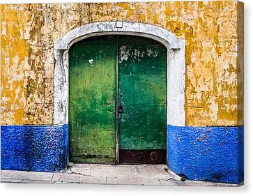 Gate No 48 Canvas Print by Marco Oliveira