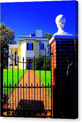 Gate Of My Grandfather Canvas Print by Don Struke