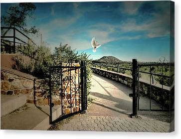 Gate To The Martyrs Canvas Print
