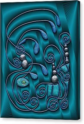 Atlantis Canvas Print - Gate To Atlantis by Mark Sellers