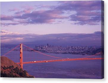 Gate To Frisco Canvas Print by Gerard Fritz