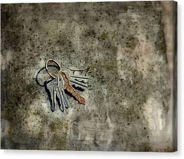 Gatehouse Keys Canvas Print by Brenda Conrad